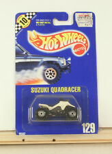 Hot Wheels Suzuki Quadracer BP#129 1991 White With CT B2