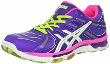 Asics GEL VOLLEYCROSS REVOLUTION Womens COURT VOLLEYBALL Shoes Size 11 NEW GRAPE