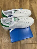 adidas Stan Smith Woven Sizes 8, 9 White RRP £80 Brand New S77267 RARE