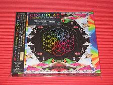 2015 COLDPLAY A HEAD FULL OF DREAMS with Bonus Track DIE CUT SLIP CASE JAPAN CD