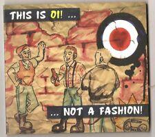 This is Oi! not a Fashion CD Sampler Oi Streetpunk Skin Oi! Skinhead Skin Punk