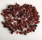 300 CT SCOOP NATURAL GARNET RED ROUGH GEMSTONES LOOSE WHOLESALE LOT RAW MINERAL