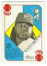 2015 Topps Heritage 51 Collection #94 Johnny Cueto Kansas City Royals