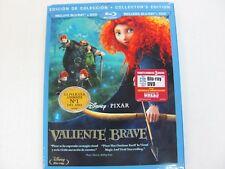 Brave (Blu-ray/DVD, 2012, 3-Disc Set, Collectors Edition Spanish)