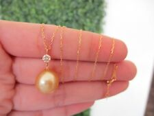 .22 Carat Diamond Yellow Gold Necklace 18k codeNx36 sepvergara