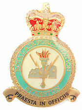 RAF Syerston Crest Enamel Lapel Pin Badge