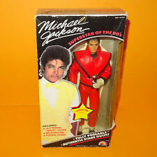 "VINTAGE 1984 80s LJN TOYS MICHAEL JACKSON ""THRILLER"" OUTFIT 12"" DOLL BOXED RARE"