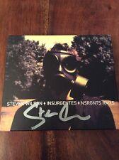 Steven Wilson - Signed - Insurgentes & RMXS