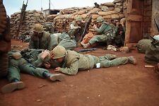 Vietnam War U.S. Marines Under Fire In Hue Tet Offensive 1968 8.5x11 Photo