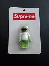 SUPREME kubrick 100% Kermit The Muppets Studio Rare Medicom bearbrick 2008 KAWS