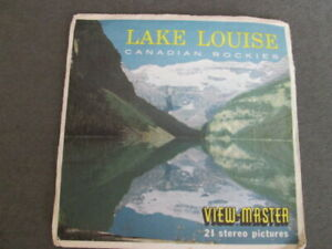 LAKE LOUISE CANADA,  WIEV - MASTER, THREE REELS , SAWYERS
