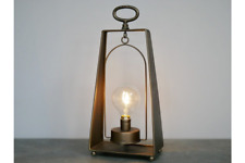 41cm Industrial Style Battery Operated Desk Light Lantern Lamp Hanging