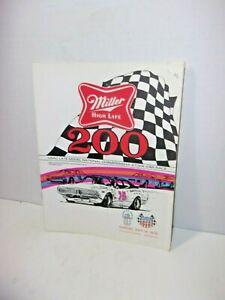 1974 Miller 200 Mile Nat'l Championship Stock Car Race Wisconsin State Fair Park