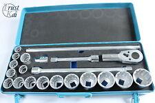 """Hazet 1000az 3/4"""" juego de llaves de vaso 21-tlg pistola made in Germany socket Tool"""