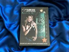 """ULTRA RARE XENA LUCY LAWLESS 2007 Chicago """"Still Got The Blues"""" CONCERT DVD"""