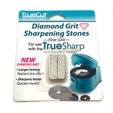 TrueSharp Sharpener Fine Diamond Grit Replacement Sharpening Stones