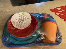 New 24 piece kids' dinnerware set