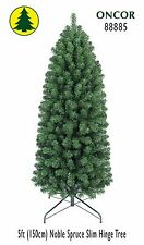 5ft Eco-Friendly Oncor Slim Noble Spruce Christmas Tree