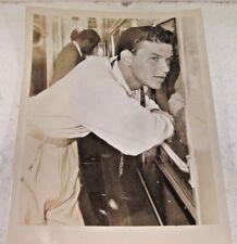 RARE FRANK SINATRA  8X10 B&W SEPIA ORIGINAL PHOTO