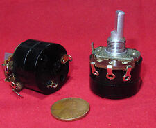 2 pk JP 100K OHM Linear Taper Pot with ON-OFF Turn Switch B100K Potentiometer BK