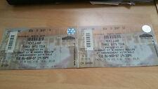 Meat Loaf unused concert ticket  Block A2 Row 8 Nov 2007