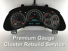 Chevy Trailblazer Gmc Envoy Speedometer Instrument Gauge Cluster Repair Service