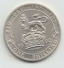 More details for 1902 edward vii matt proof silver shilling 1/- very rare.