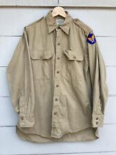 Vintage WWII U.S. Army Air Forces Uniform Shirt Patch 15 33 Original Worn