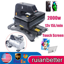 Digital 3d Sublimation Heat Transfer Machine 3d Vacuum Heat Press Machine 2000w