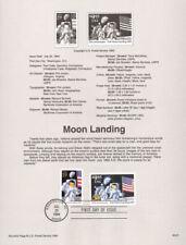 #9421 29c & $9.95 Moon Landing #2841-2842 USPS Souvenir Page