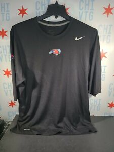 Hickory Crawdads / Game Used / Nike Dri-Fit 3/4 Shirt / XL / Texas Rangers