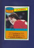 Kent Nilsson Team Leaders 1980-81 O-PEE-CHEE OPC Hockey #106 (NM) Calgary Flames