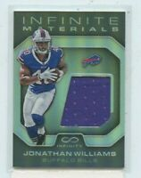 JONATHAN WILLIAMS 2016 PANINI INFINITY INFINITE MATERIALS ROOKIE JERSEY #D /88