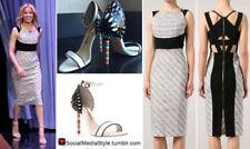 ICONIC RECOGNIZABLE GORGEOUS ROLAND MOURET Quebec origami black/white dress