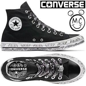 Converse Chucks Sneaker All Star Taylor High Turnschuh Schuhe Canvas Miley Cyrus