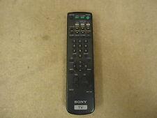 Sony Remote Control Black Genuine OEM RM-Y136