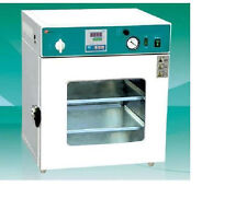 "Lab Digital Vacuum Drying Oven 250°C 12x12x11"" Cold Rolling Steel New"