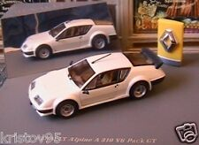 RENAULT ALPINE A310 V6 PACK GT BLANCHE UNIVERSAL HOBBIES 7711225858  1/43 WHITE