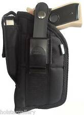 "Nylon Side Gun Holster fits Beretta PX4 with laser 4"" barrel use L or R hand"