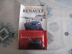Voiture Miniature Renault Sinpar Castor 1200 Leve Poteau EDF GDF 1966 au 1/43