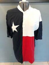 Rare Vtg Stately Inc Texas State Flag Red White Blue Star T-Shirt Size Large