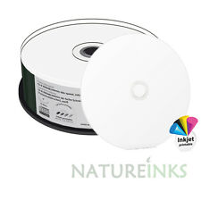 25 MediaRange CD R 48x 100 minuten Druckfertig Volle Oberseite weiß CD-R 900MB