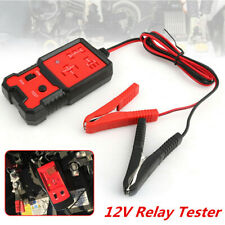 Plastic &Metal 12V Universal Electronic Car Relay Tester For Car Battery Checker