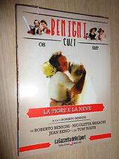 DVD N° 8 ROBERTO BENIGNI CULT LA TIGRE E LA NEVE BASCHI RENO WAITS