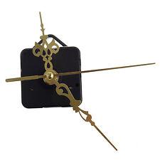 Quartz Clock Movement Mechanism DIY Repair Parts Gold AD