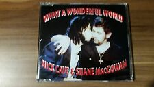 Nick Cave & Shane MacGowan ‎– What A Wonderful World (1992) (MCD) (CD Mute 151)