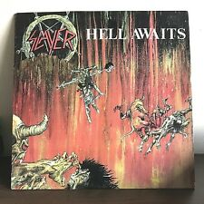 Hell Awaits by Slayer 1985 Vinyl Combat Records 1st Press Metal Thrash Speed