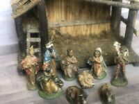 Vintage Fontanini Nativity Set Depose Italy Figurines Only