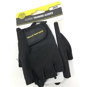Gold's Gym Classic Weight Training Gloves XS / Small  NEW