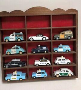 12x Vintage Die-cast Police Car Models By Corgi, Vanguard, Progetto etc #799